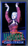 CIAO ITALIA - WHO'S THAT GIRL TOUR UK VHS VIDEO